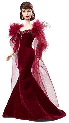 Barbie - Bcp72 - Poupée Mannequin - Scarlett O'hara Robe De Grenat: Amazon.fr: Jeux et Jouets