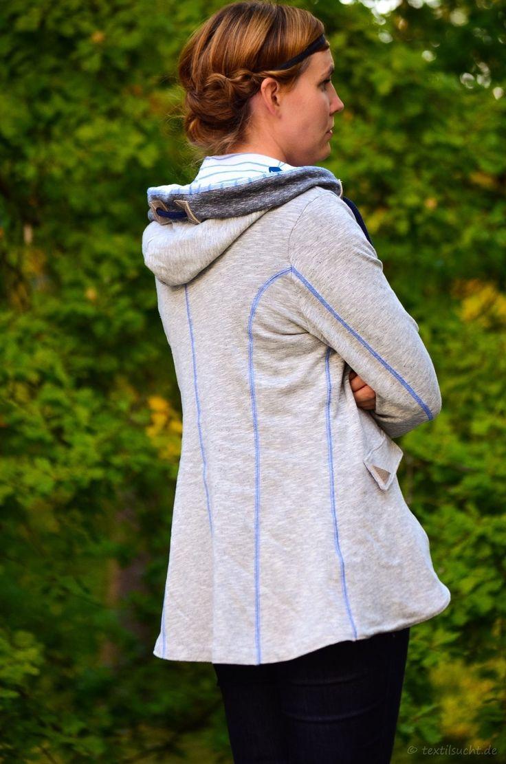 Meine neue La Jazida Blazer Sweatjacke - Bild 2 | textilsucht.de                                                                                                                                                                                 Mehr