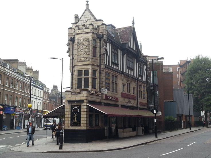 Former Truman's pub,now a Greek restaurant on Praed Street ...