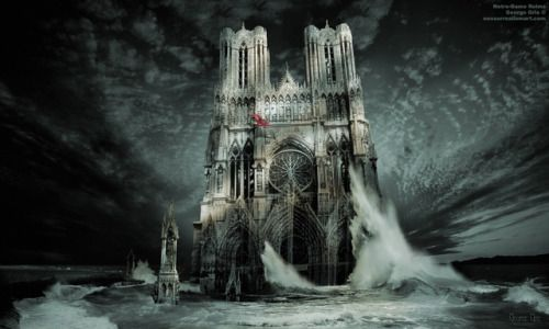 Cathedral of Notre-Dame, Our Lady Reims by George Grie