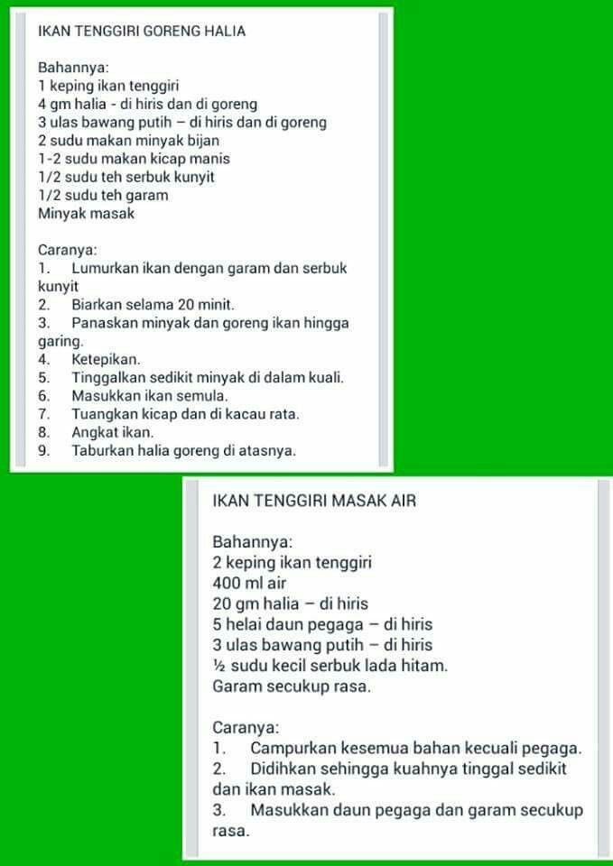 1000 images about resepi dalam pantang on pinterest for Azian cuisine menu