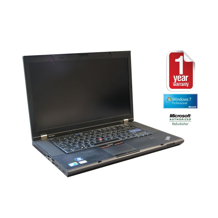 Lenovo T510 refurbished laptop PC I5 2.53/4GB/250GB/Dvdrw/15.5/Webcam/W7P64