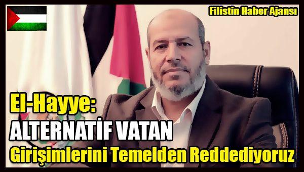 Er-Risale gazetesinin 20'nci kuruluş yıldönümü münasebetiyle düzenlenen etkinlikte konuşan Hamas lideri El-Hayye, işgale her türlü araçla karşı koymak ve herkesin bu temel üzerinde ittifak etmesi gerektiğini vurgulayarak Filistin Yönetimi'ne ulaştırmak istedikleri mesajın da bu olduğunu ifade etti.   #filistin alternatif vatan #filistin haber #filistin işgal #filistin sina ürdün #halil el hayye #hamas filistin