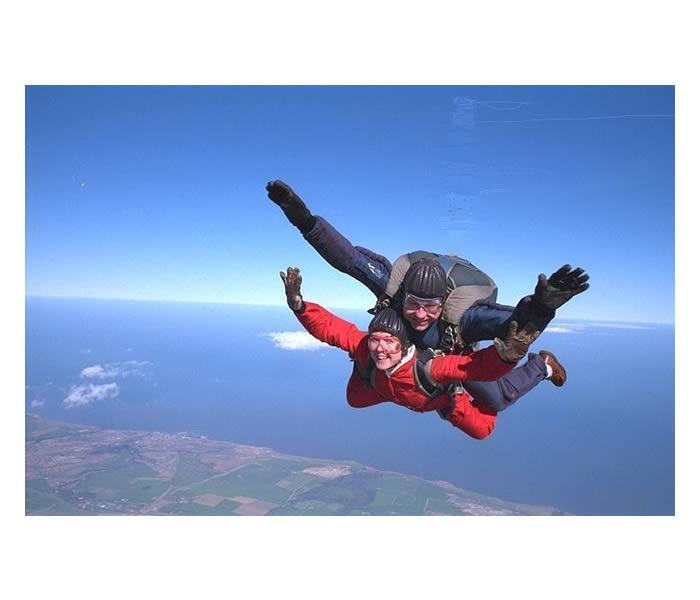 Tandem Skydive---could i?