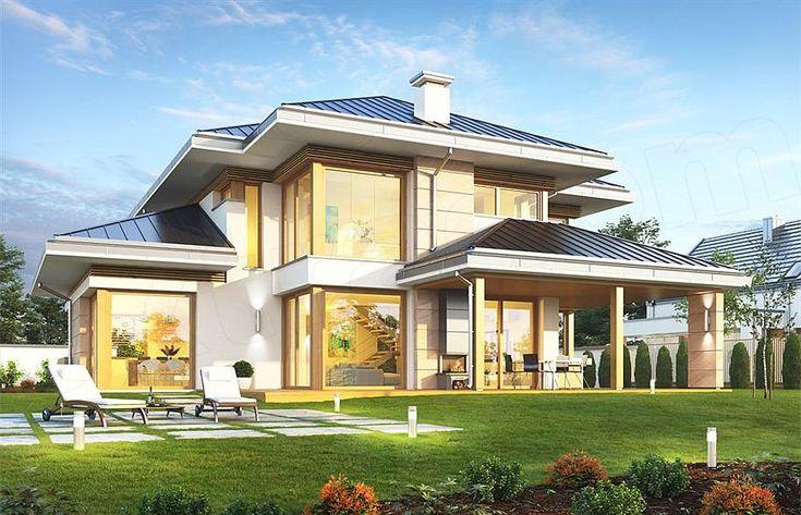 projekt Dom z widokiem 3 F WAH1849