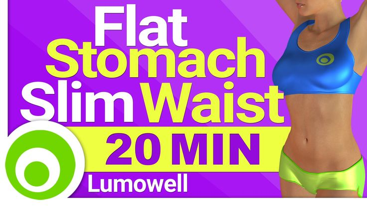 Cardio to Get a Flat Stomach and a Slim Waist - Burn Belly Fat, Lose Wei...