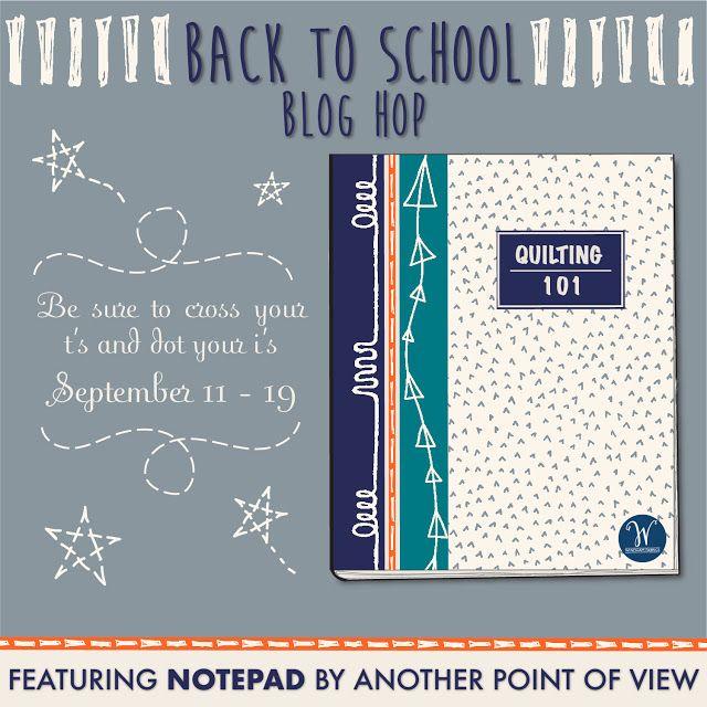 Chris Dodsley @mbCD: Back To School 2017 Blog Hop For Windham Fabrics