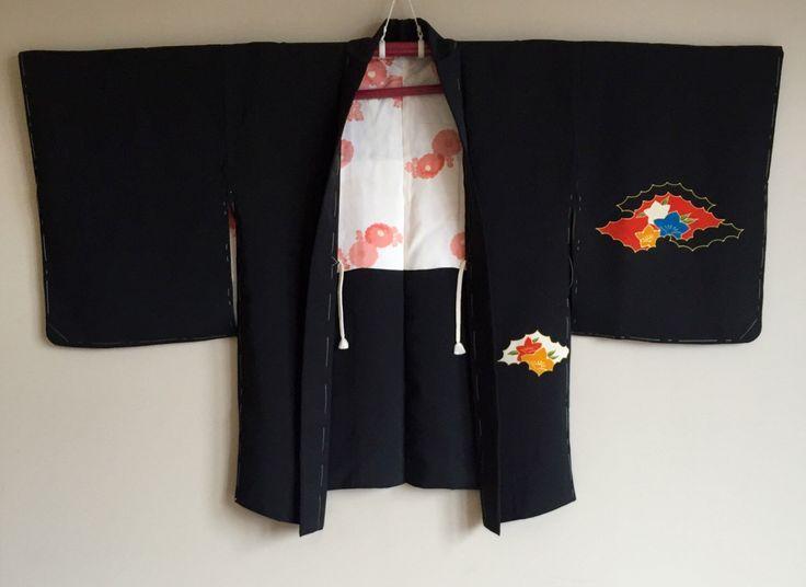 A personal favourite from my Etsy shop https://www.etsy.com/au/listing/477878593/1950s-black-haori-kimono-jacket-boho