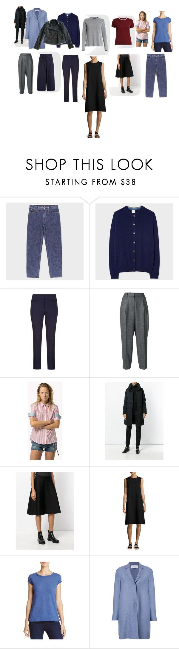 """""""draft 3"""" by milasnotes on Polyvore featuring мода, PS Paul Smith, Paul Smith, Incotex, Woolrich, Chalayan, The Row, Free People, Harris Wharf London и Karl Lagerfeld"""