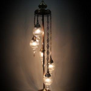 5 floor pyrex light