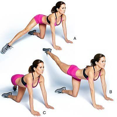 The Better-Butt Workout - moves to tone those glutes
