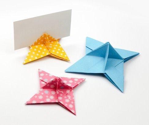 tuto origami shuriken