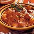 Veal Ragout with Cinnamon, Potatoes and Cream -- Yummy winter stew!