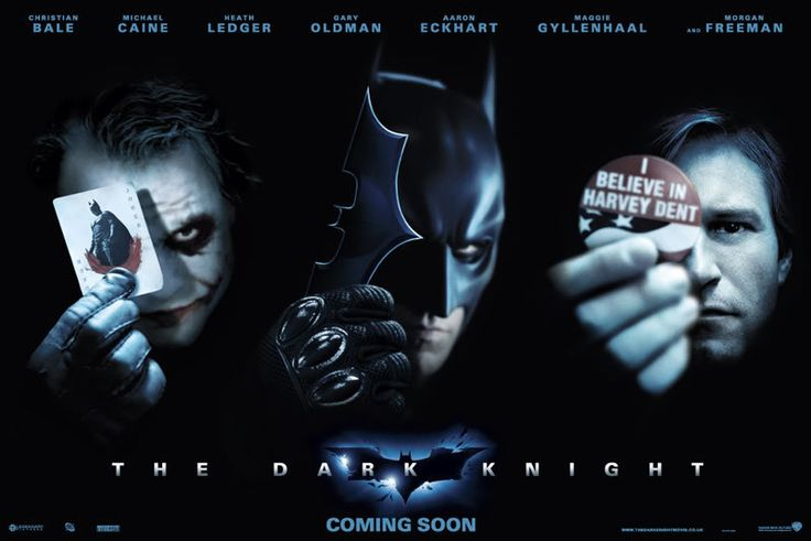 Gamified Movies - The Dark Knight (2008)