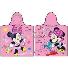 Disney Minnie Mouse - Prosop cu gluga din bumbac pentru copii 50x100 cm CTL69304-1  http://www.asternuturisiprosoape.ro/disney-minnie-mouse-prosop-cu-gluga-din-bumbac-pentru-copii-50x100-cm-ctl69304-1.html  #prosoapecopii #prosoapedisney #prosoapecugluga