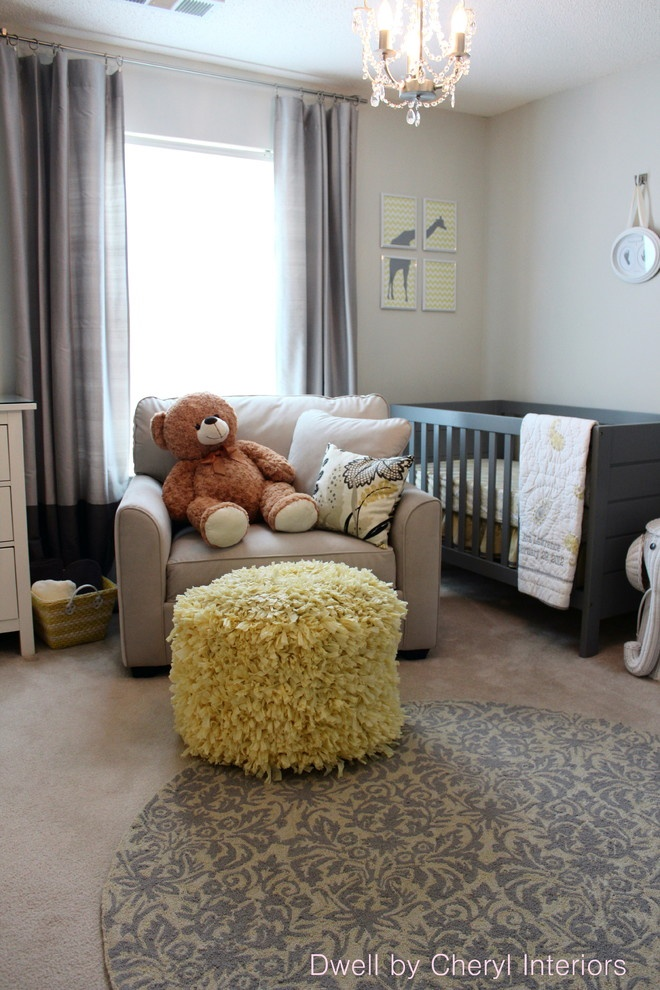 Nursery - modern - kids - charlotte - Dwell by Cheryl Interiors