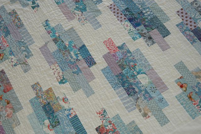 Nice Quilt made with Scraps.: Quilts Ix, Scraps Quilt, Quilts Quilting, Quilts Scraps, Photo Sharing, Quilt Scrap Quilts, Scrappy Quilts, Quilts Blue, Modern Quilts
