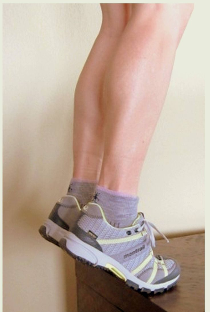 Follow these steps on how to safely perform the calf raise or gastrocnemius muscle strengthening exercise.