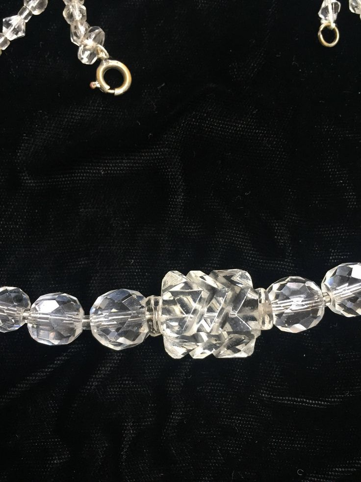 A personal favorite from my Etsy shop https://www.etsy.com/ca/listing/594365453/cut-crystal-vintage-necklace