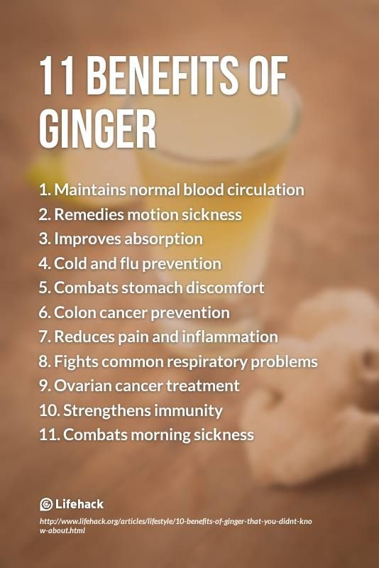 Here's a list of some amazing benefits of ginger that you may not aware of.