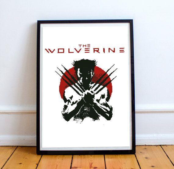 Wolverine / James Howlett /  Marvel Comics / by Embroidery4kidsArt