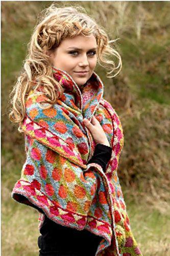 colourwork shawl