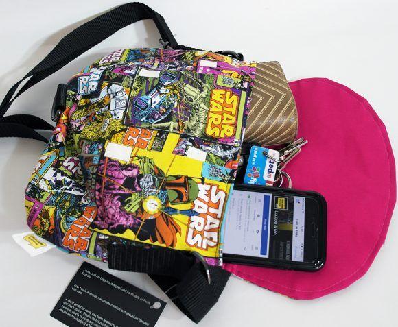 #Starwars fabric - Comic covers - Crossbody Bag