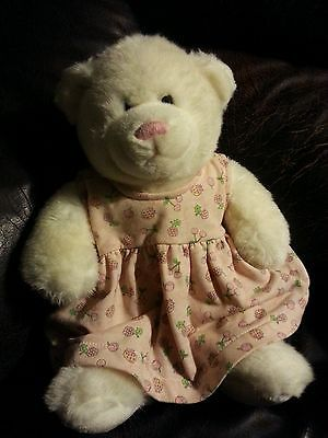 BUILD A BEAR -Sale!flowers dress  Stuffed Animal baby girl toy Sale!half price!
