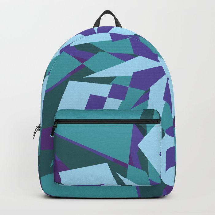 Crazy Mandala Backpack by greennatural | Society6