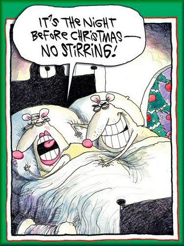 naughty christmas eve mice funny image   Season\'s Greetings ...