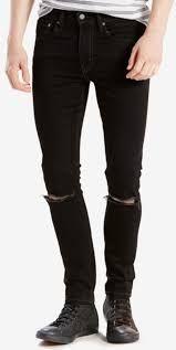 este pantalón puede ser entregado por una persona especial, generara confianza,seguridad, estilo  Jean para caballero color negro con rasgad en rodillas. Talla 28-38 $ 70.000.