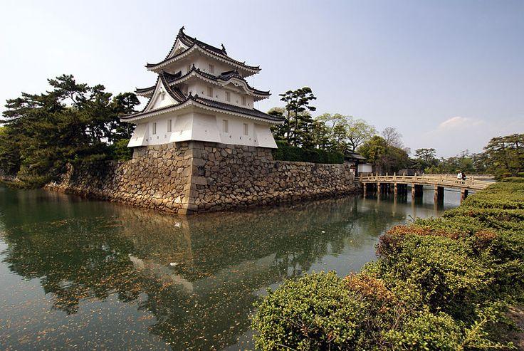 日本三大水城|高松城
