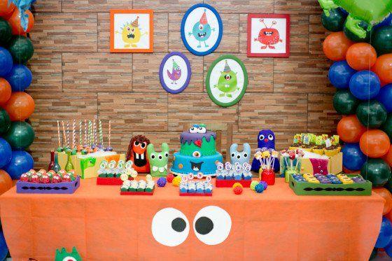 Festa Infantil Monstros