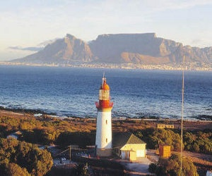 Lighthouse on Robben Island Cape Town