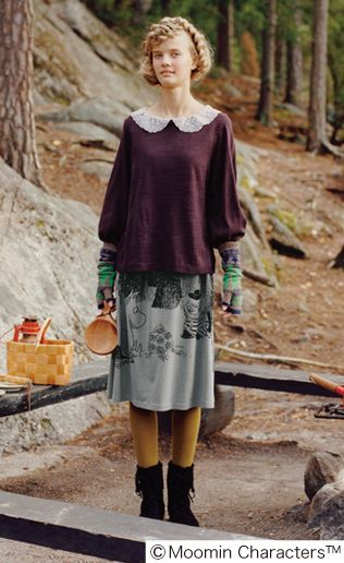 moomin, skirt (!)