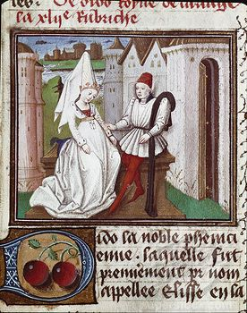 Dido and Aeneas: 1450 1500 Dress, 15Th Century France, 1450 1495 Tal, 15Th Century 1400 1499