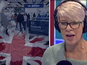 A FURIOUS Katie Hopkins has lashed out against Britons having to tip-toe around immigrants' cultures.