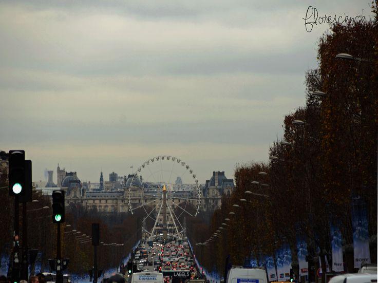 The Avenue des Champs-Élysées is a boulevard in the 8th arrondissement of Paris, 1.9 kilometres long and 70 metres wide, which runs between the Place de la Concorde and the Place Charles de Gaulle, where the Arc de Triomphe is located (c) Floresence