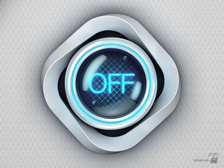 Button Off White S by krolone.deviantart.com on @deviantART