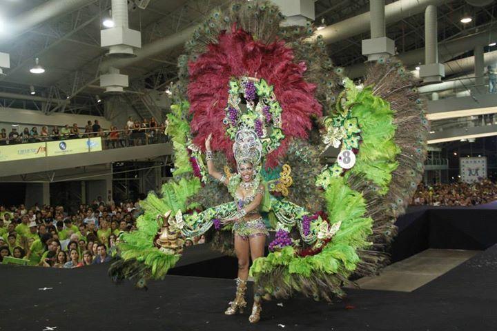Rainha do COCB 2014  Candidata: Amanda Alves  Tema: Cibely: A Favorita do Deus Baco
