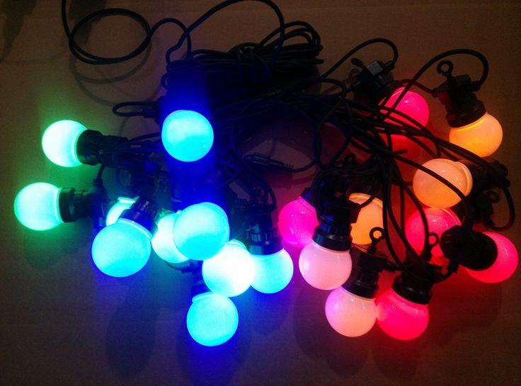 G50 LED ampoules guirlande guirlande lumineuse LED festoon lumière ...