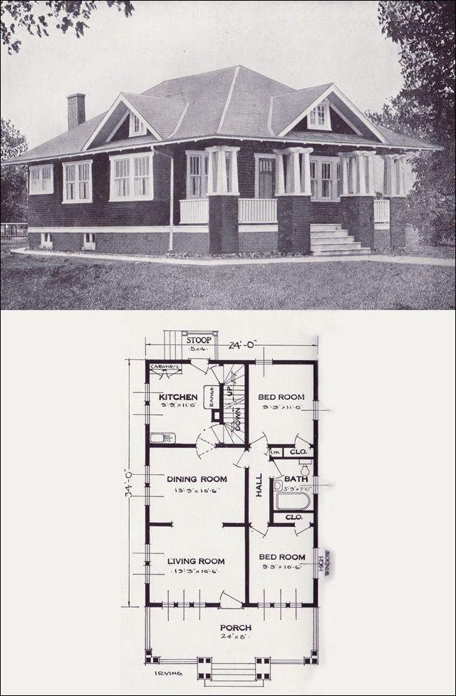 17 best images about 1900 1935 bungalow on pinterest for House plans 1900