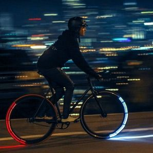 Riding your bike home late from class? Check out these five bicycle lighting systems that will get you home safe.