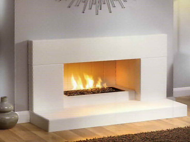 Home accessories contemporary fireplaces gas with white - The types and uses of contemporary fireplace inserts ...