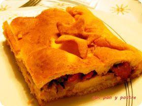 Con pan y postre: Empanada gallega de lomo y chorizo, en Nochebuena