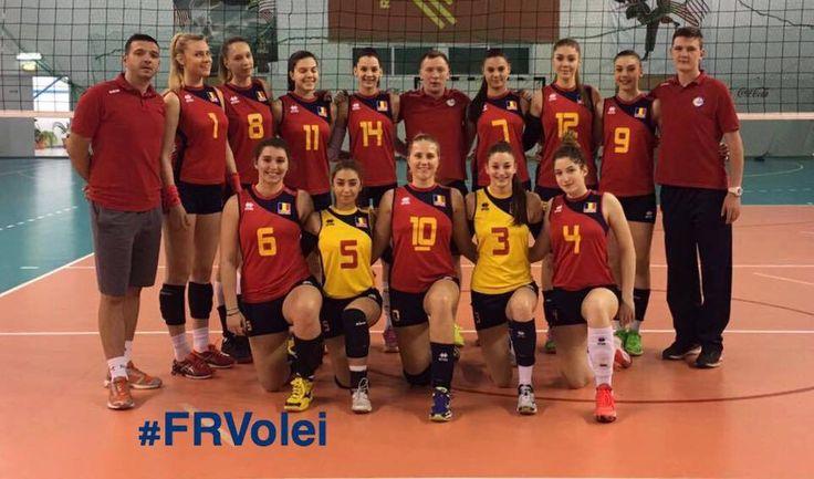 Volei feminin: Naționala U18 a României în fața examenului final de la Campionatul European de volei