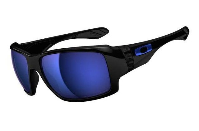 Oakley Big Taco Matte Black Ice Iridium Polarized Glasses  $36.75 http://www.bigbootshotsale.com/