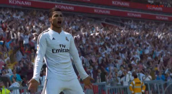 Trailer: Pro Evolution Soccer 2015: http://www.wihel.de/trailer-pro-evolution-soccer-2015_39595/