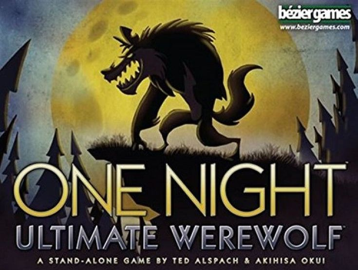 One Night Ultimate Werewolf Board Game, , Free Shipping