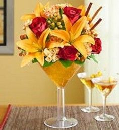 pumpkin floral arrangements | Fall Flower Arrangements - LADY OF THE LAKE FLORAL & GIFTS, Bowerston ...